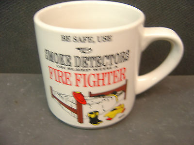 Be Safe- Sleep With A Fire Fighter Mug  (Please See Pic)