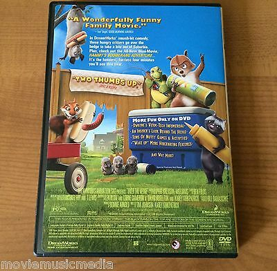 OVER THE HEDGE DVD signed by GARRY SHANDLING