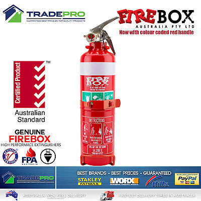 Fire Extinguisher 1kg ABE Professional Dry Powder 1kg & Bracket Car Boat Home