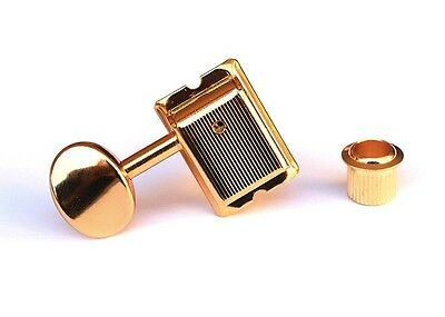 Gotoh SD91 6-In-Line Vintage Guitar Tuners • Gold • Left Handed SD91-05M-R6