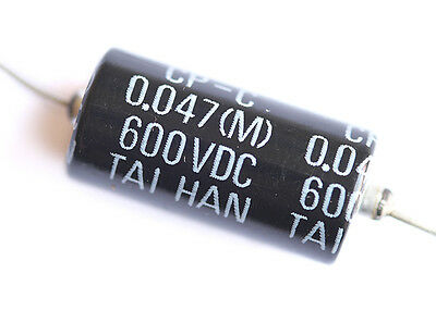 Taihan Black Bee Paper In Oil Guitar Capacitor • .047 uF