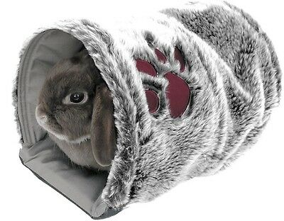 Rosewood Reversible Soft Warm Snug Tunnel Bed Rabbit Guinea Pig Ferret