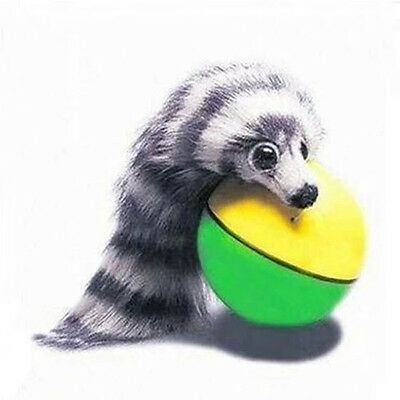Dog Cat Weasel Motorized Funny Rolling Ball Pet Appears Jump Moving Alive Toy ~~