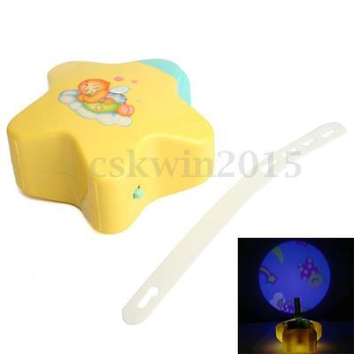 New Baby Night Projector Starlight Star Dreamshow Musical Light Cot Mobile Toys