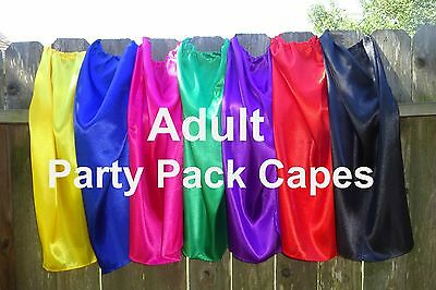Adults Super Hero Capes Party Favors Bulk Wholesale