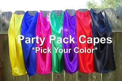 Childrens Super Hero Capes Party Favors Bulk Wholesale