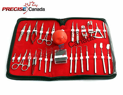 27 Pc O.R Grade Strabismus Eye Micro Minor Surgery Ophthalmic Set Kit EY-027