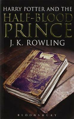 HARRY POTTER AND THE HALF-BLOOD PRINCE (HARRY POTTER 6)[ADULT EDITION] 1st Ed.