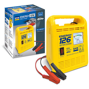 GYS Energy 126 Manual Battery Charger 12V