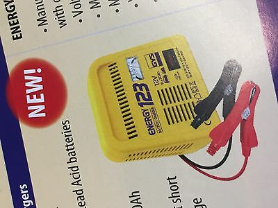 GYS Energy 123 Manual Battery Charger 12V