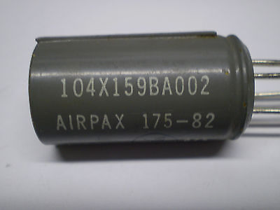 Airpax 175-82, 6V Single Coil Latching Relay, New