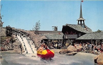 Disneyland Bobsled E-11 / 0447 Chrome Postcard