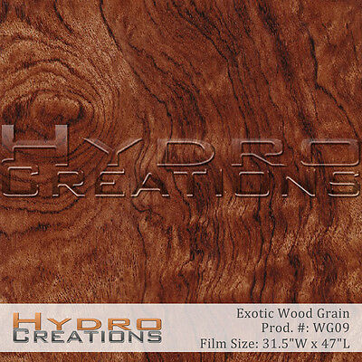 Hydrographic Film For Hydro Dipping Water Transfer Film Dark Exotic Wood Grain