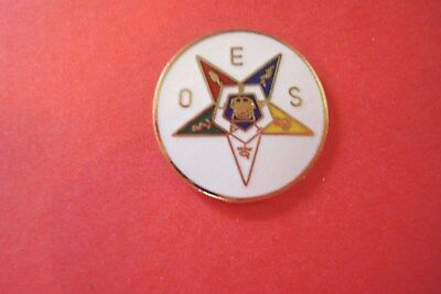 ORDER OF THE EASTERN STAR  Hat Pin Lapel  Pin