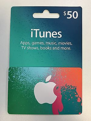 $50 AUSTRALIAN iTUNES GIFT CARD - SUPER FAST DELIVERY