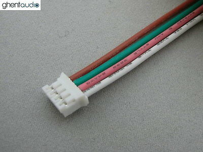 10pcs(30cm 1ft) JST PHR-4 UL Silicone Stranded Copper 24AWG Wire/cable lead
