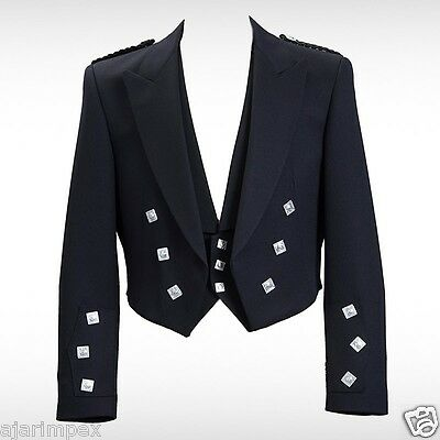 Scottish Prince Charlie Jacket & Vest-