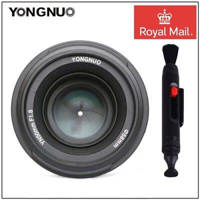 Yongnuo YN50mm F1.8 Large Aperture MF AF Auto Focus Lens For Nikon Camera UK