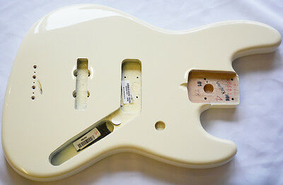 Fender American Series Jazz Bass Body in Olympic White **Genuine Fender Parts**