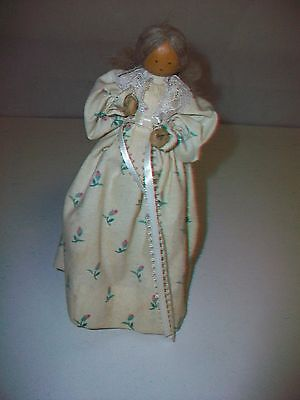 Liebchens Little Loved Ones Pine Baroness Wood Doll Figurine