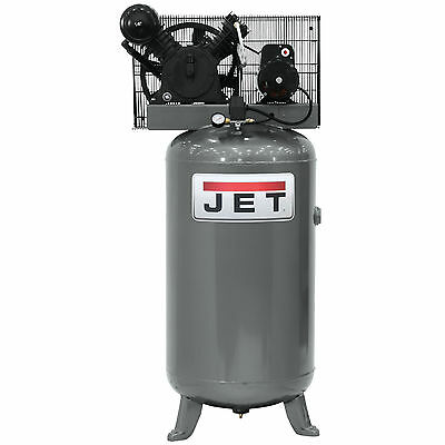 5HP 230V 1Ph 80 Gallon Vertical Air Compressor JET 506801 New