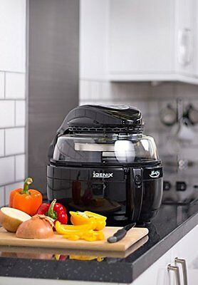 Igenix IG1190 Black 6 In 1 Multichef Low Fat Halogen Cooker With Timer