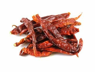 Pure Whole Dried Kashmiri Chillies (red) - 50g