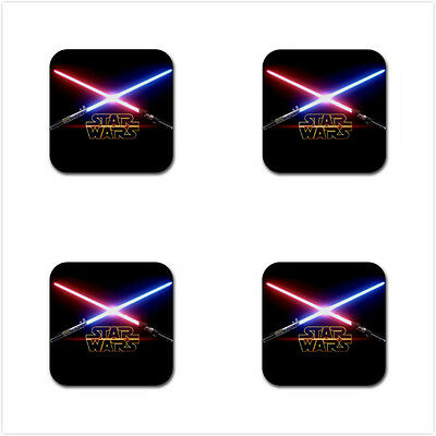 Star Wars Rubber Square Coaster (4 pack) - Free Shipping