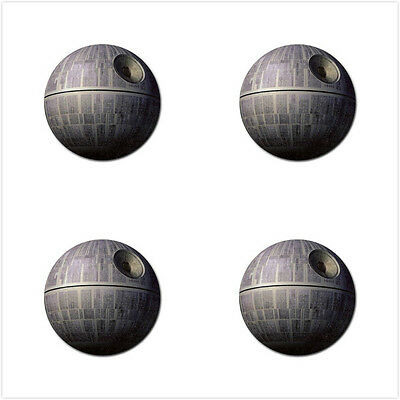 Death Star Star Wars Rubber Round Coaster (4 pack) - Free Shipping