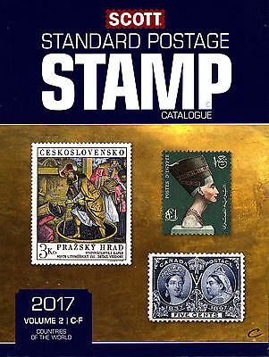 2017 SCOTT STANDARD POSTAGE STAMP CATALOGUE VOLUME 2 C-F Countries FREE SHIPPING