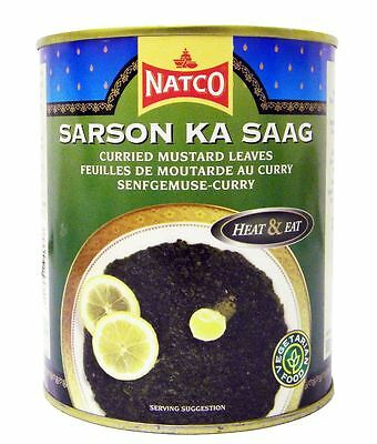 Natco - Sarson Ka Saag - 800g (pack of 2)