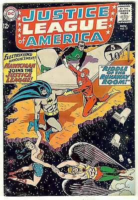 Justice League of America #31 (1964 vf- 7.5) guide value: $84.50 (£63.00)
