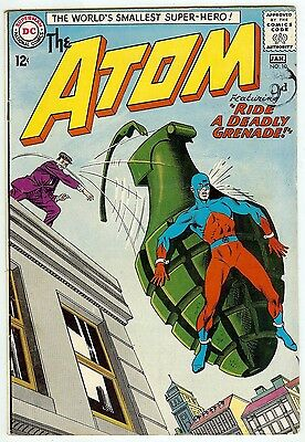 The Atom #10 (DC 1964; vf- 7.5) Price guide value in this grade: $73.00 (£59.00)