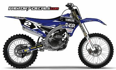 Yamaha ANSR YZF YZ WR 125 250 450 Graphics Decals any year 1990-present