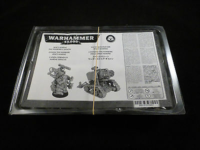 40K Space Marine Thunderfire Cannon + Techmarine 'Direct Only' Metal Boxed Set