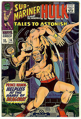 Tales to Astonish #94 (1967; vf- 7.5) 40% off price guide vaue
