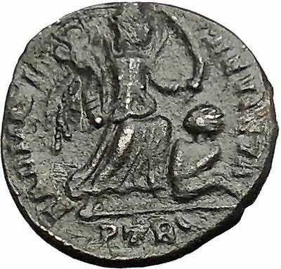 CONSTANTINE I the GREAT victory over SARMATIA 324AD Ancient Roman Coin i55387