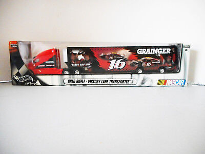 Hotwheels Nascar Transporter Limited Edition Greg Biffle 2003 Collectable Metal