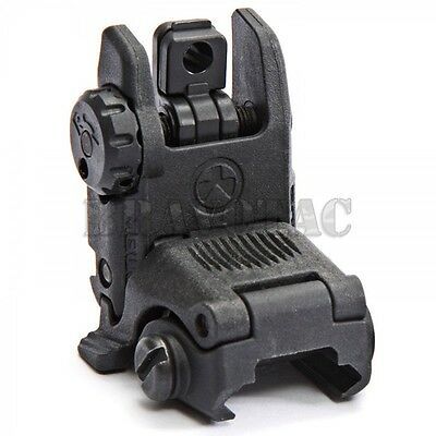 Magpul MBUS Gen-2 Rear Sight Flip-Up Spring-Loaded Folding BUIS 5.56/223 - Black