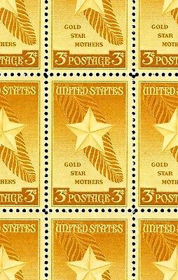 1948 - GOLD STAR MOTHERS - #969 Full Mint -MNH- Sheet of 50 Postage Stamps