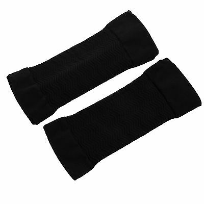 Black Slimming Weight Loss Arm Shaper Cellulite Fat Buster Wrap Belt Unisex