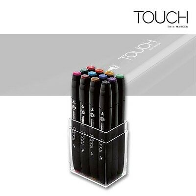 Touch Twin Marker 12er Set Main Colors