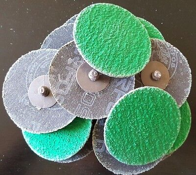 "Roloc Discs | 3"" 36 Grit 