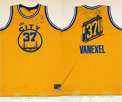 new style 6bd91 049cc NICK VAN EXEL Golden State Warriors Nike Throwback Swingman Jersey Size 2XL