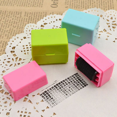 Cute Rubber Stamp Security Hide ID for Proctect Documents Files Identity Theft