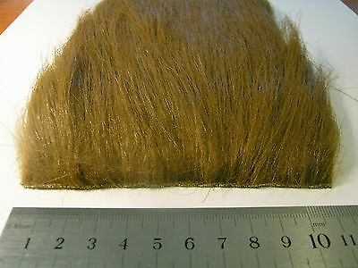 Saddle Brown Extra Long Pile Craft Fur, Fly Tying Material