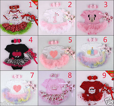"""Reborn Doll Dress Lace Handmade Children's clothes fits 22"""" Baby Christmas Gift"""