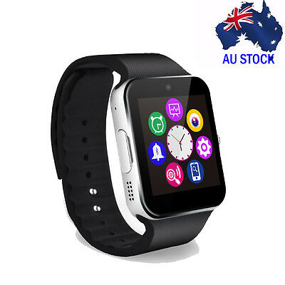 Bluetooth Smart Wrist Watch Touch screen Phone Mate GPRS for IOS Android IPhone