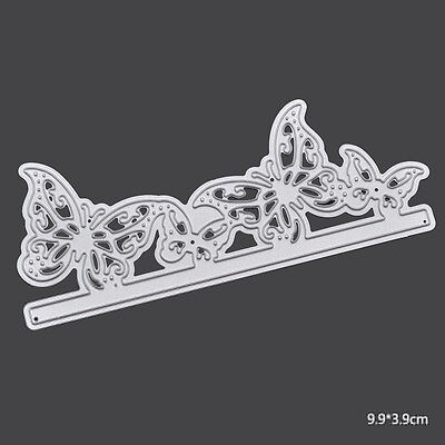 Lovely Butterfly Shaped Cutting Dies Stencil DIY Scrapbook Album Paper Card Tool