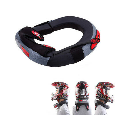 Motorcycle Bike ATV Adult Race Collar Neck Guard Brace Throat Safe Protector NR